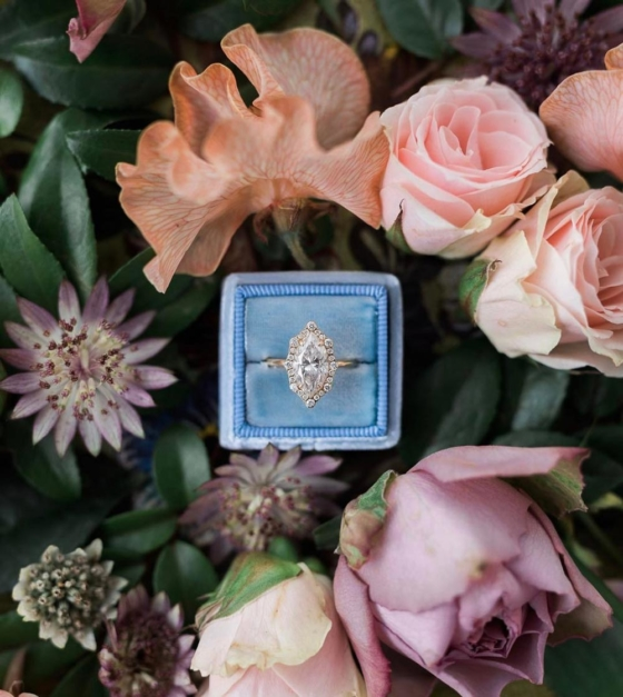 16 Marquise Engagement Rings Fit For a Queen