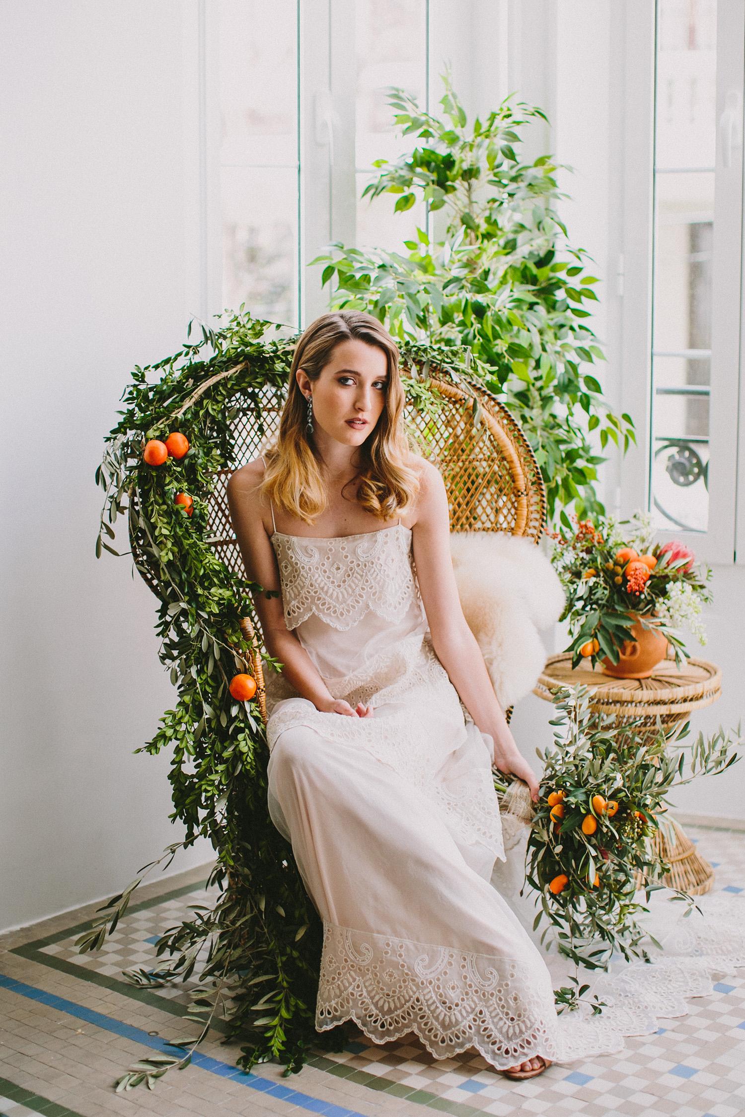 bridal wedding inspiration - photo by Paula G Furio http://ruffledblog.com/1920s-mediterranean-wedding-inspiration-in-valencia-spain