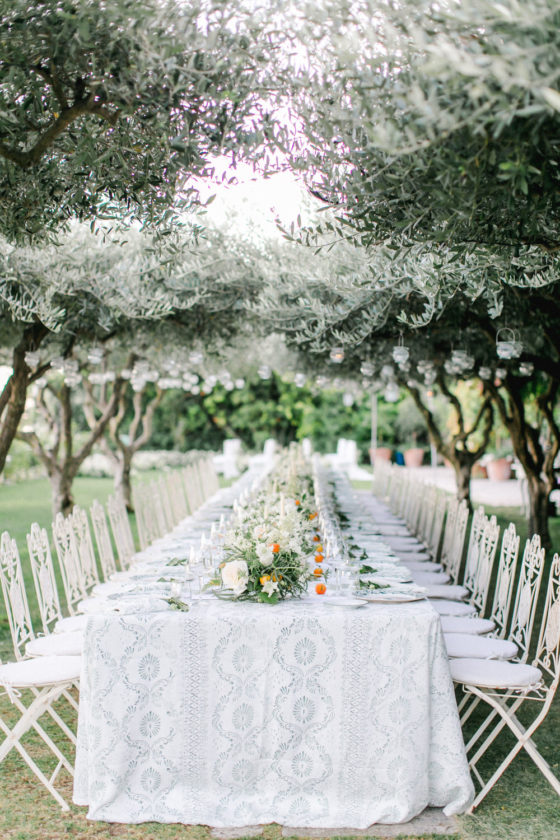 An Elegant Destination Wedding in Ravello with Pops of Citrus
