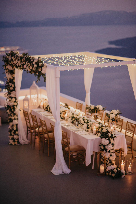 An Intimate Santorini Wedding That Redefines Luxury Ruffled