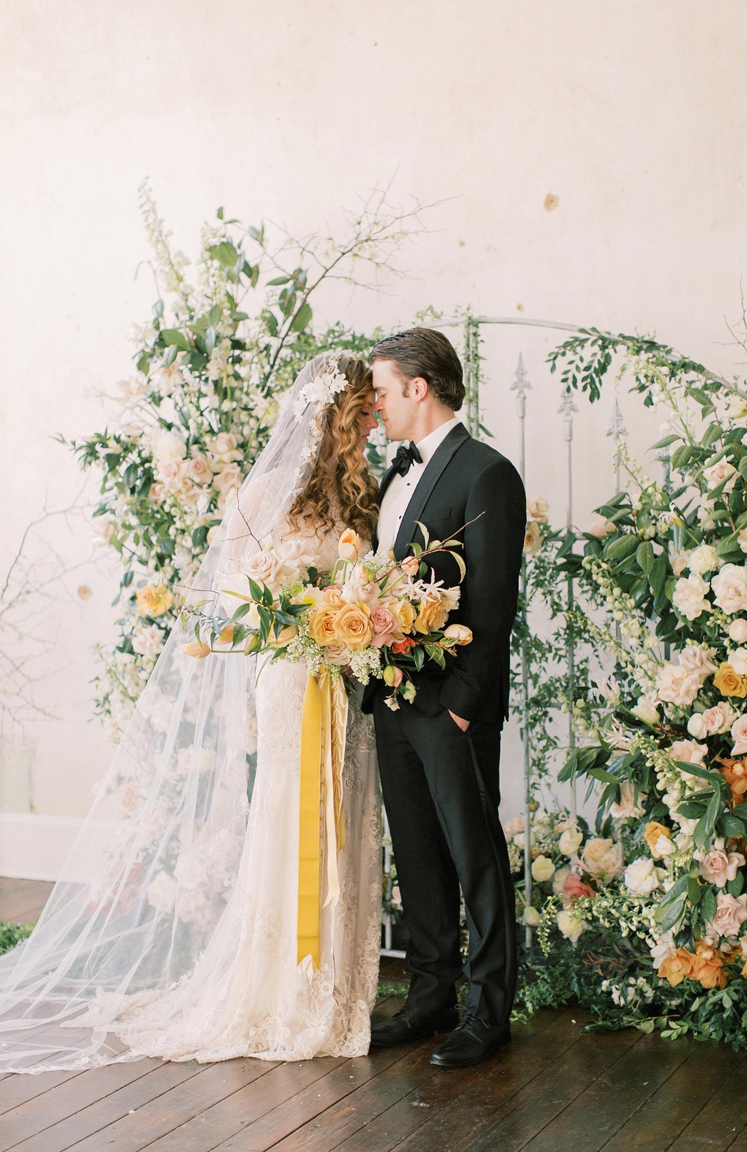 Old World Wedding Inspiration With Poetic Heirloom Details Ruffled