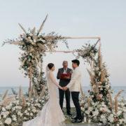 Natai Beach Wedding Muted Spice Tones