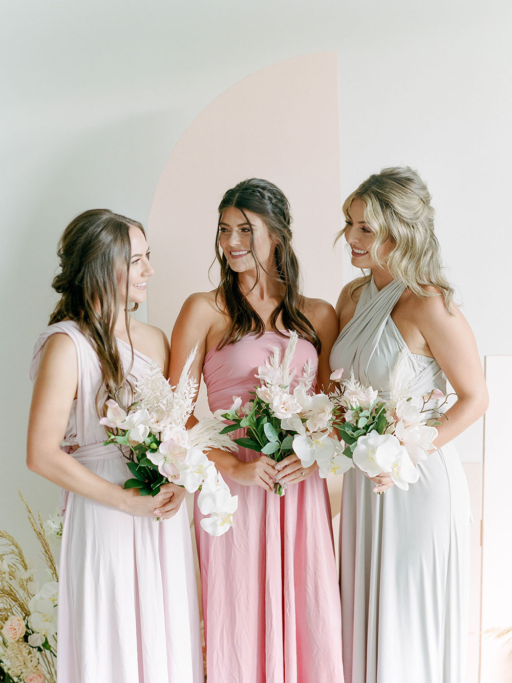 How To Customize Refresh And Upcycle Mismatched Bridesmaid Dresses With Rit Dye Ruffled