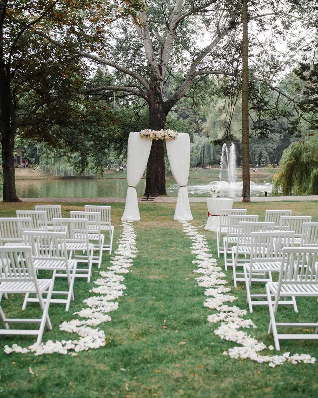 Your Backyard Wedding Rentals Checklist Ruffled