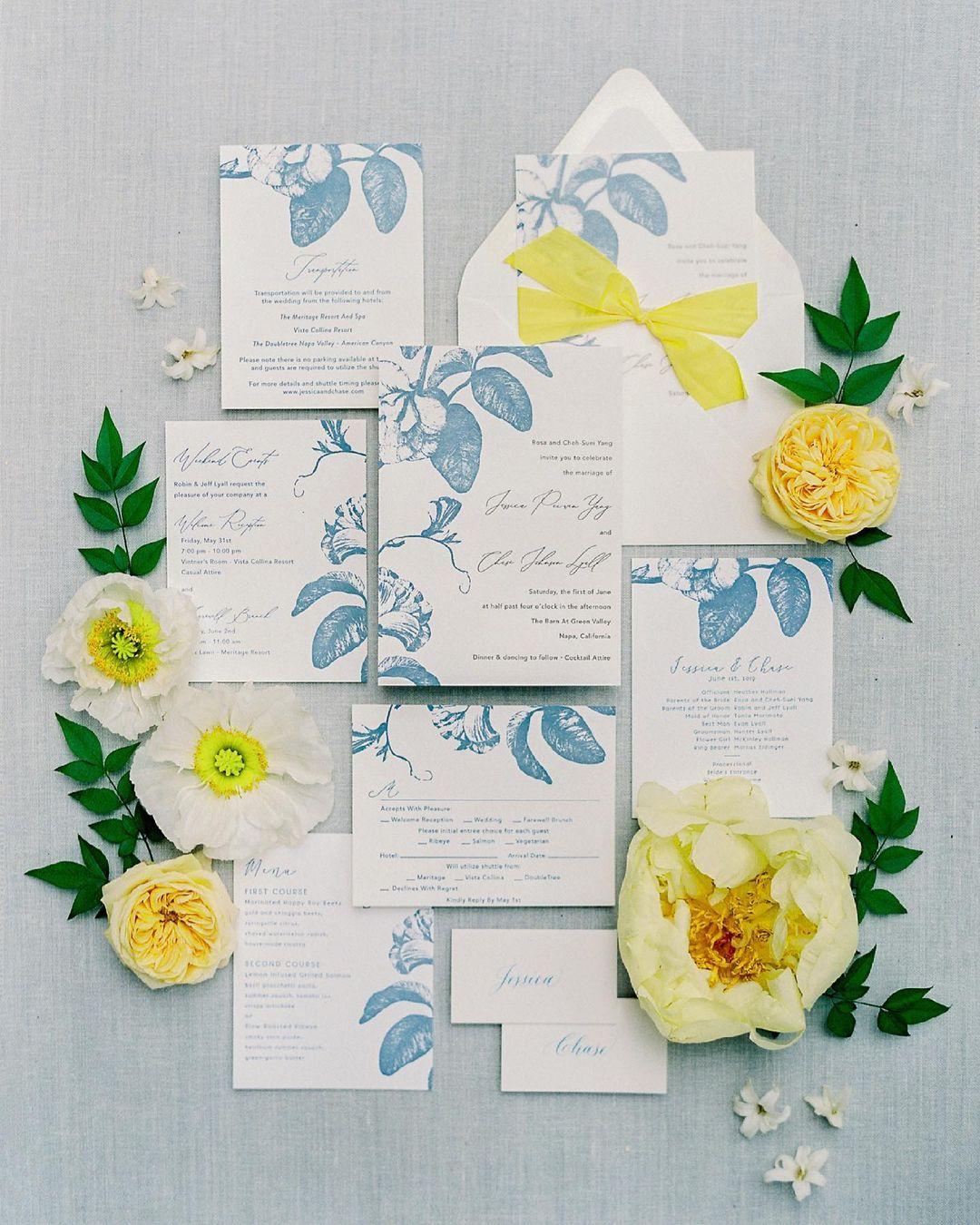 Minted Wedding Invites Matching Wedding Websites