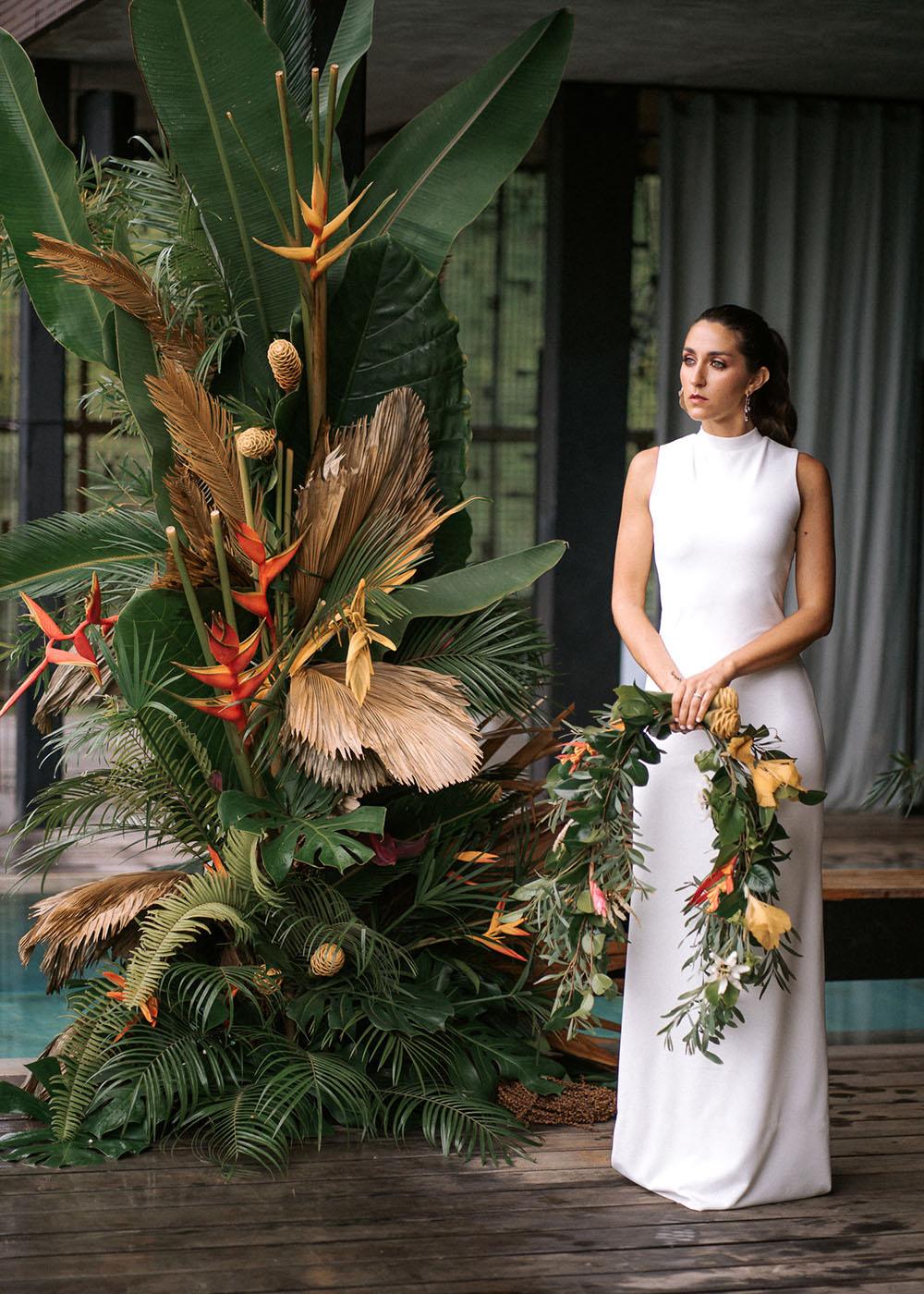 Modern Jungalow Wedding Costa Rica