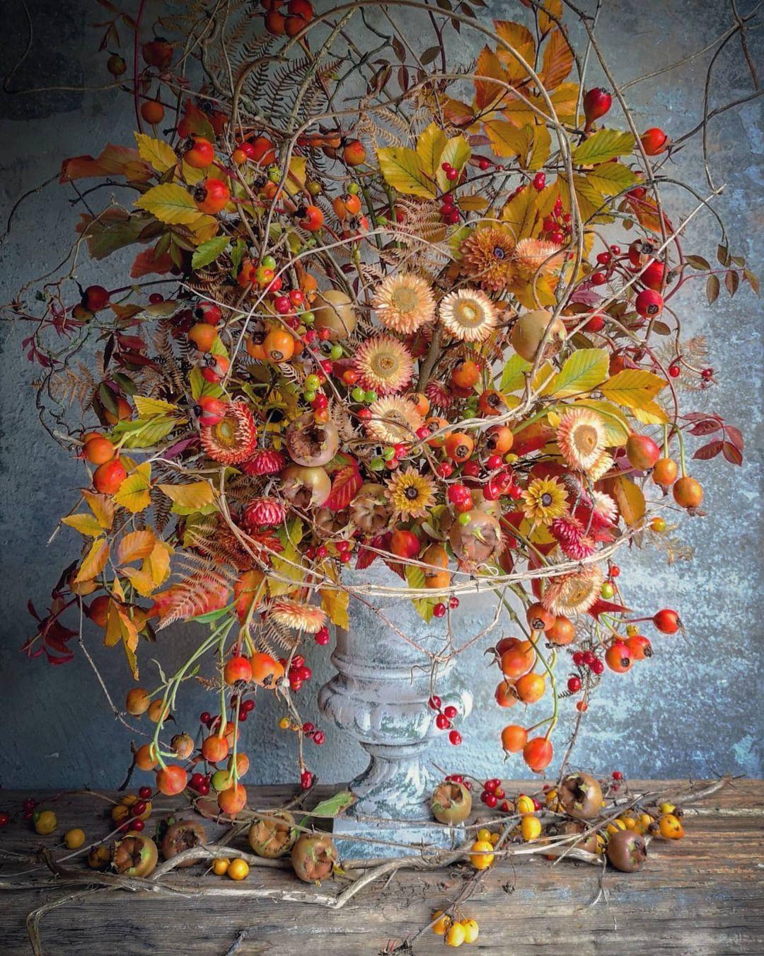 Prettiest Fall Floral Arrangements