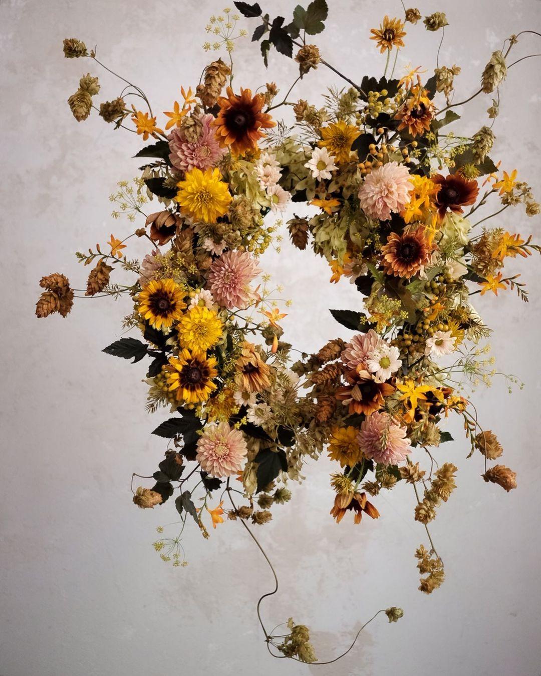Seasonal Wreath Inspiration Top Florists