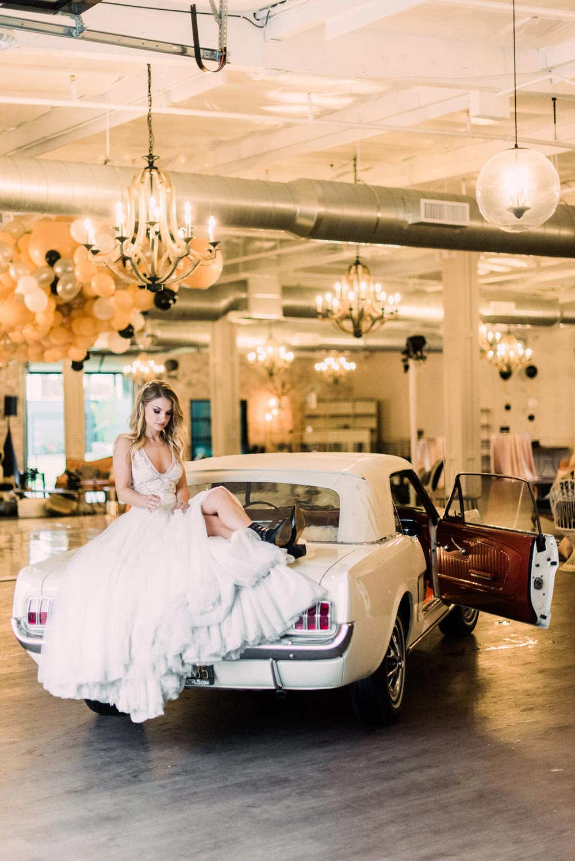 90s Disco Wedding Inspiration Mustang 05