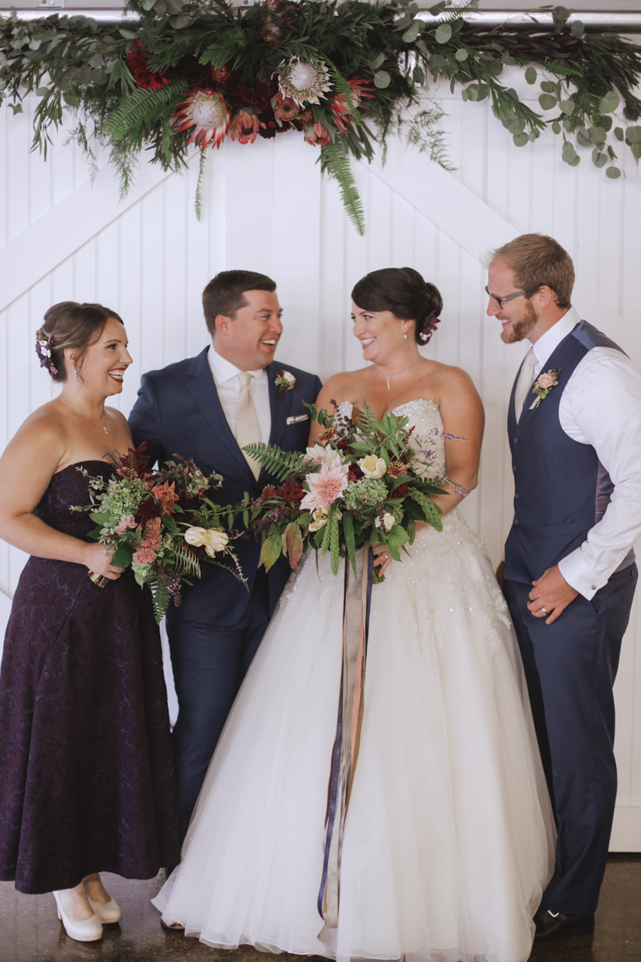 Rustic Woodland Chic Wedding Inspiration in Baltimore - https://ruffledblog.com/rustic-woodland-chic-wedding-inspiration-in-baltimore