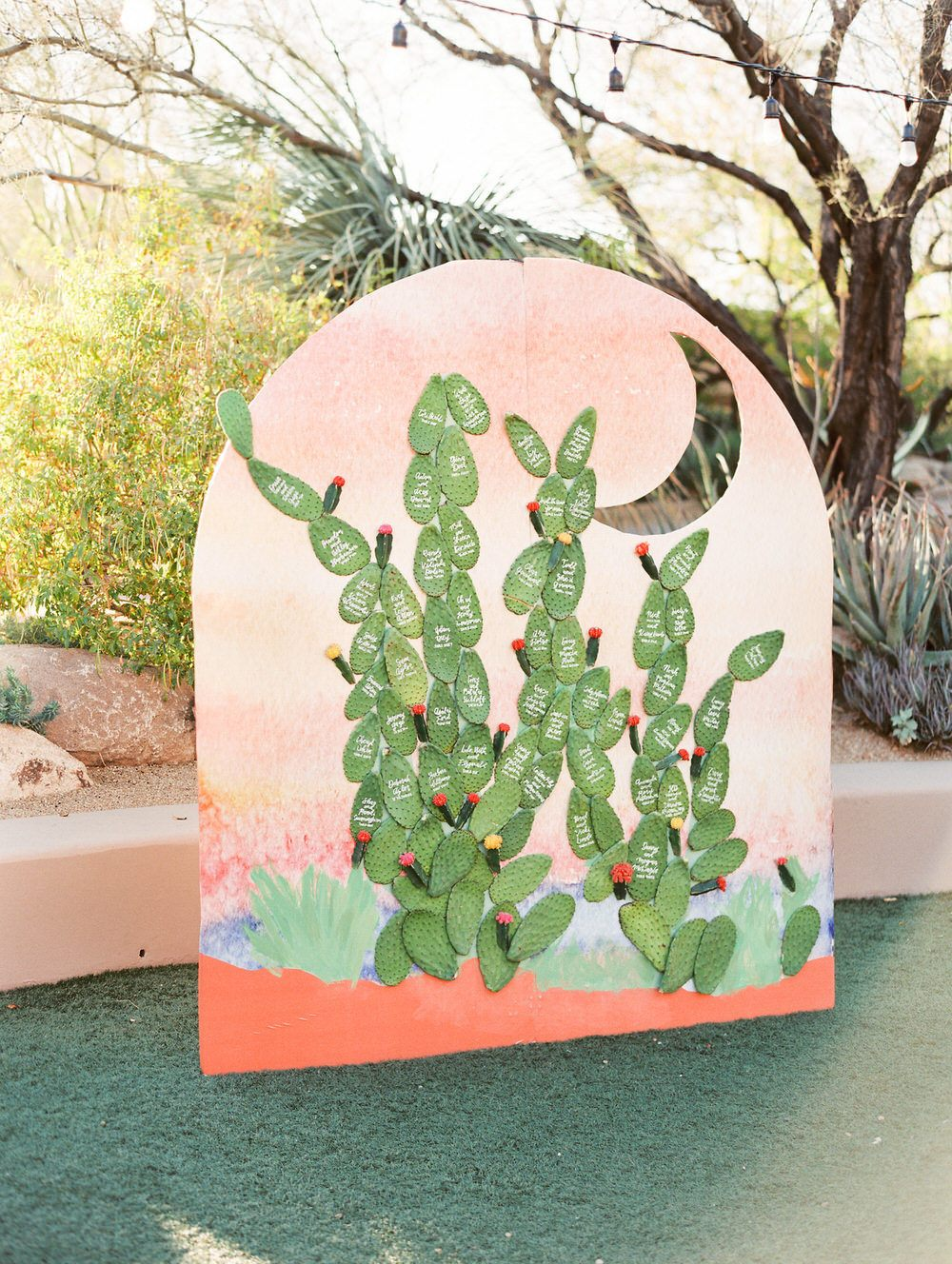 cacti seating arrangement