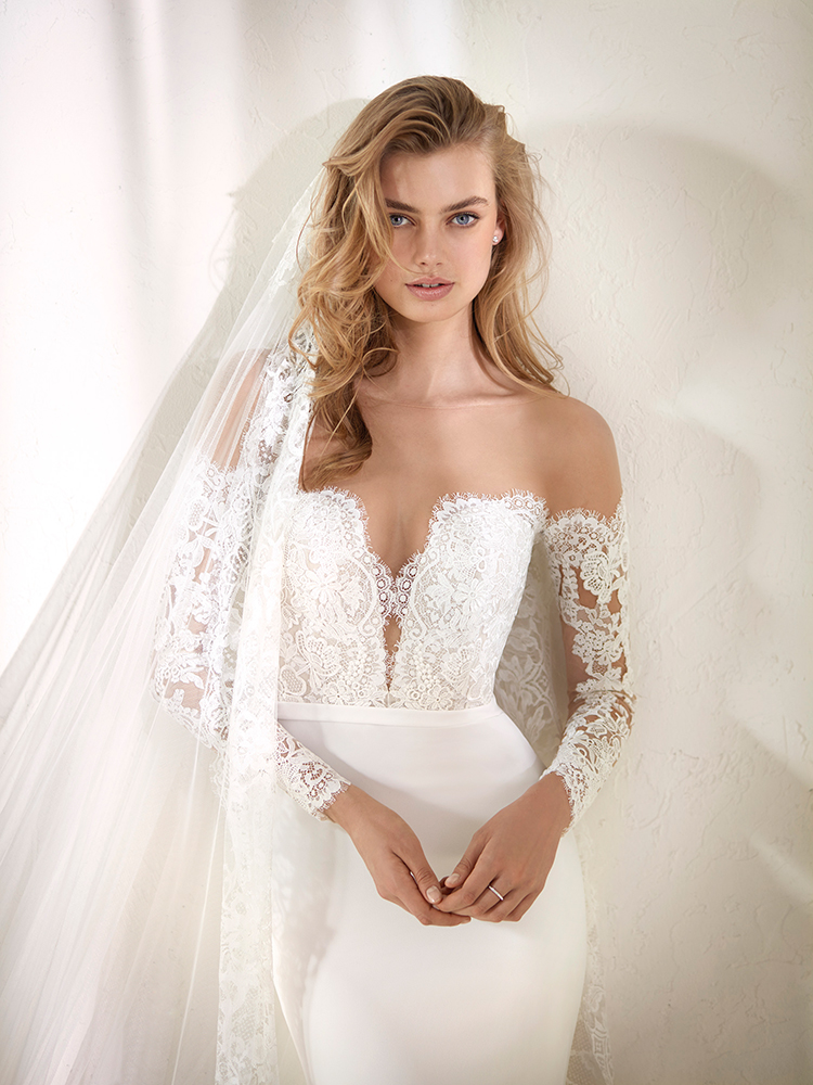 Pronovias 2018 Collection: Wild Love in East Africa - https://ruffledblog.com/pronovias-2018-collection-wild-love-in-east-africa