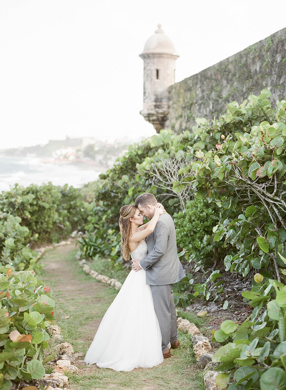 Destination Wedding In A Puerto Rican Rainforest