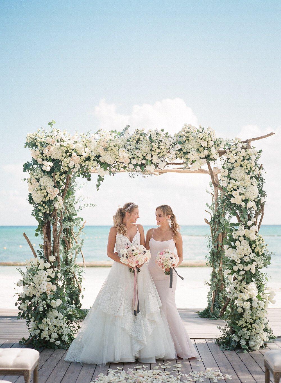 Tropical Destination Wedding Meets Modern Luxe in Riviera...