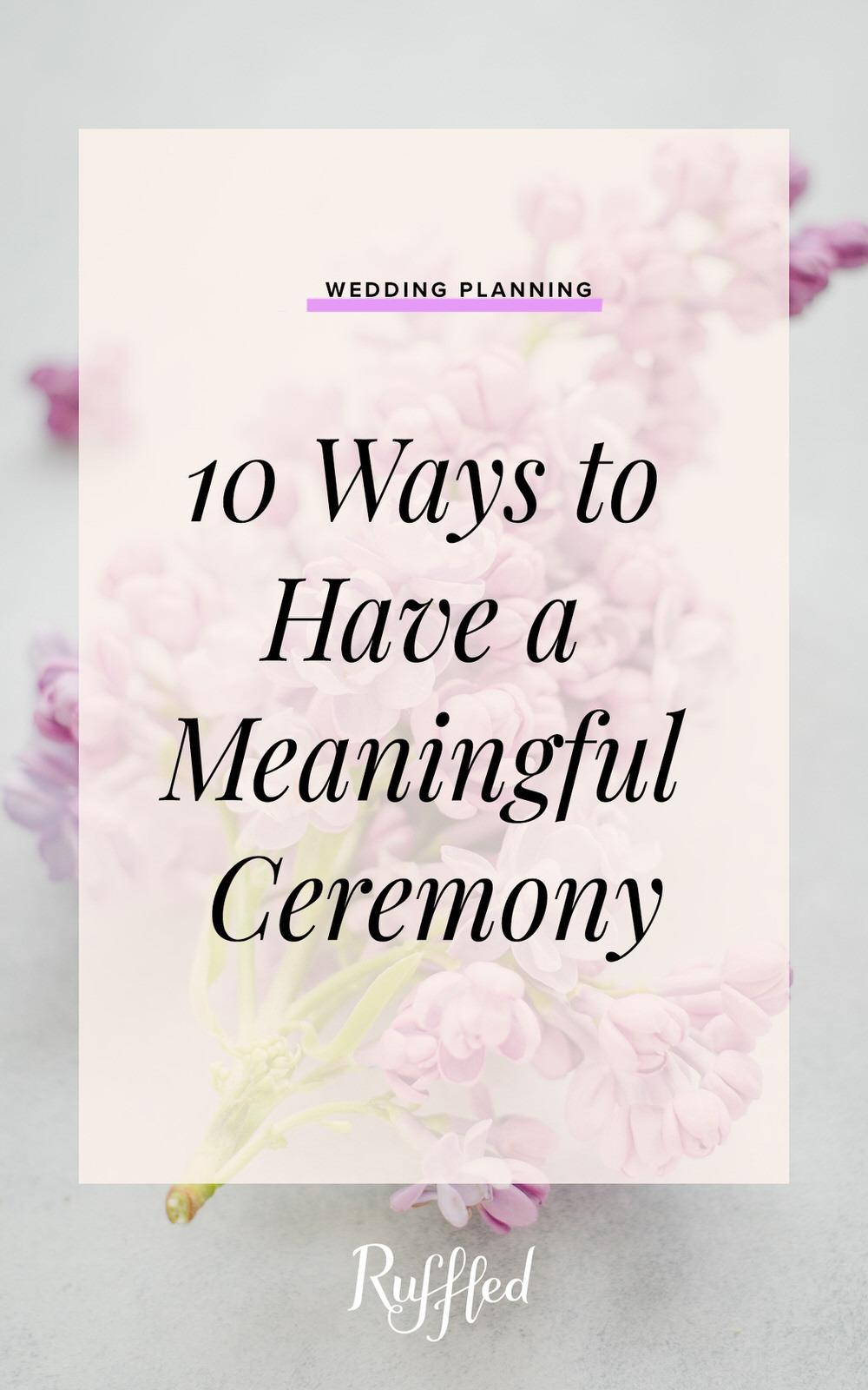 """Beyond the """"I Do"""": 10 Ways to Have a Meaningful..."""