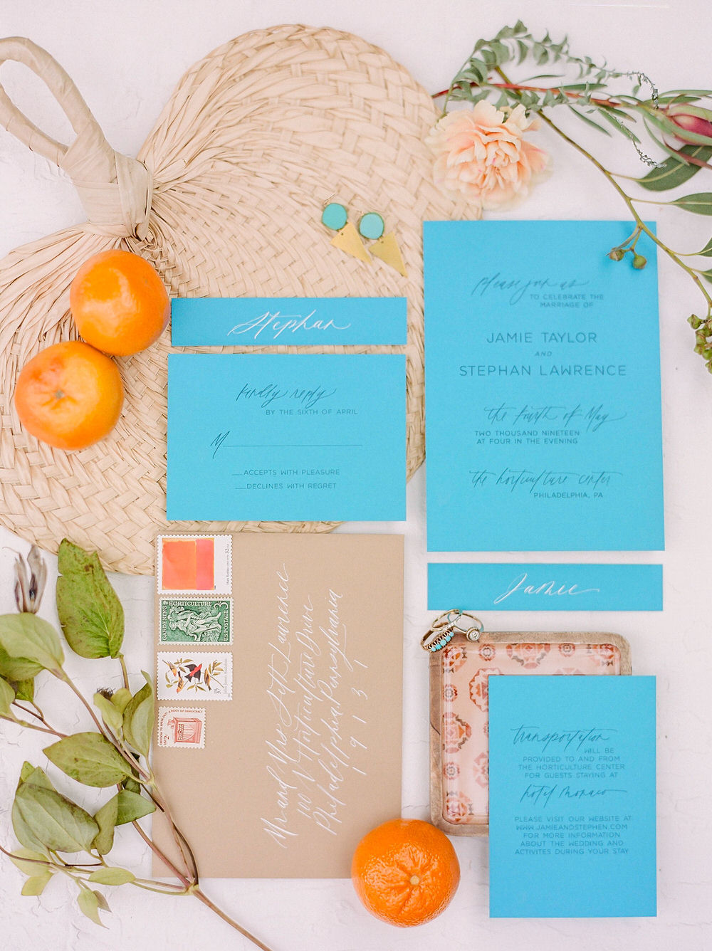 Midwest Boho Wedding Stationery