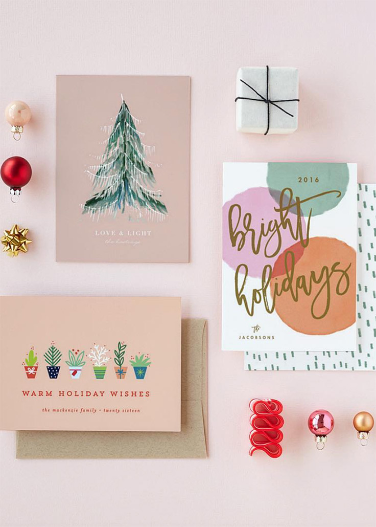 Minted Holiday Cards 07