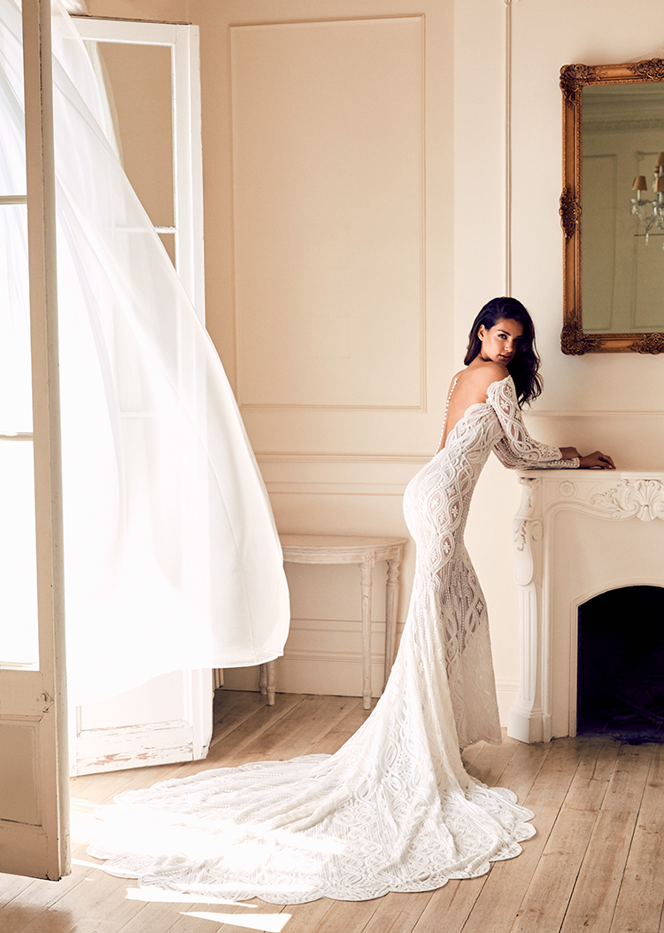 Pronovias 2018 Collection: Wild Love in East Africa - http://ruffledblog.com/pronovias-2018-collection-wild-love-in-east-africa