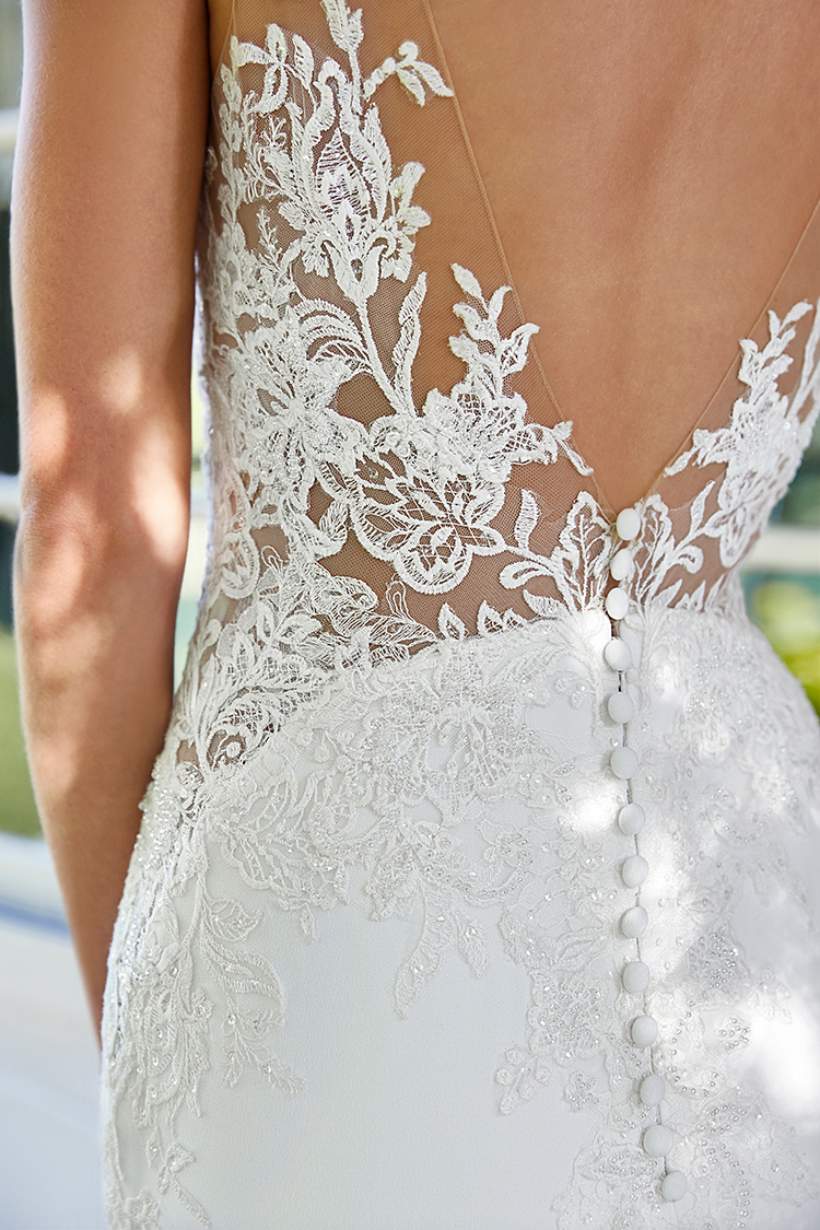 St. Patrick 2018 Wedding Gown Collection - http://ruffledblog.com/st-patrick-2018-wedding-gown-collection