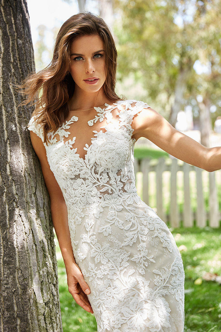 St. Patrick 2018 Wedding Gown Collection - https://ruffledblog.com/st-patrick-2018-wedding-gown-collection