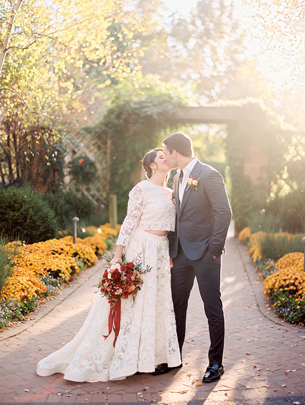 Romantic Botanical Garden Wedding Ideas Ruffled