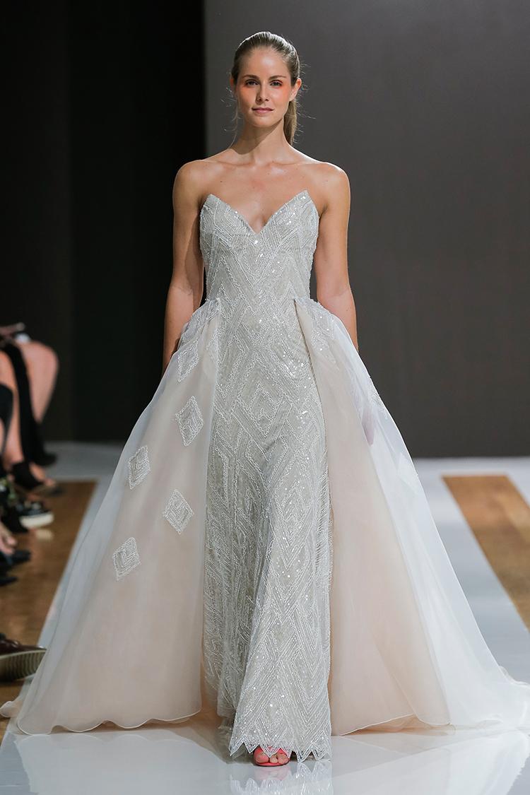 Mark Zunino Bridal Collection for Spring 2018 - https://ruffledblog.com/mark-zunino-bridal-collection-for-spring-2018