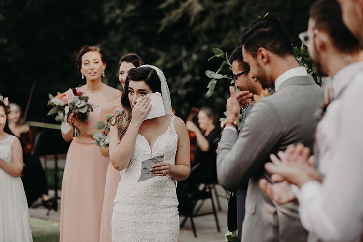 sweet wedding ceremonies - http://ruffledblog.com/vibrant-atlanta-wedding-inspiration-with-rust-accents