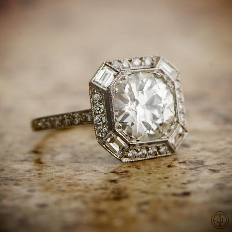 Wedding Ring Vintage 67 Stunning This one is vintage