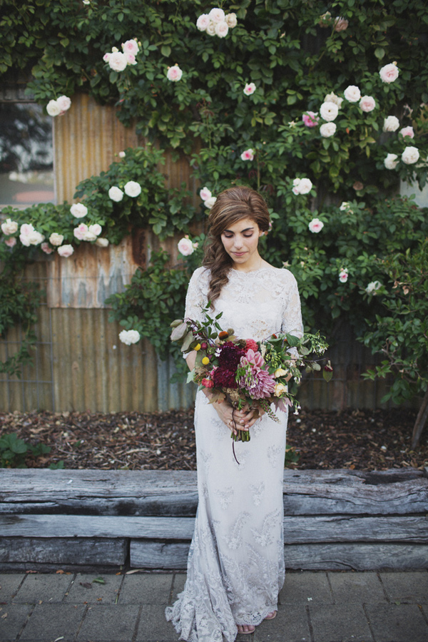Adelaide Hills Wedding With Natural Materials Ruffled