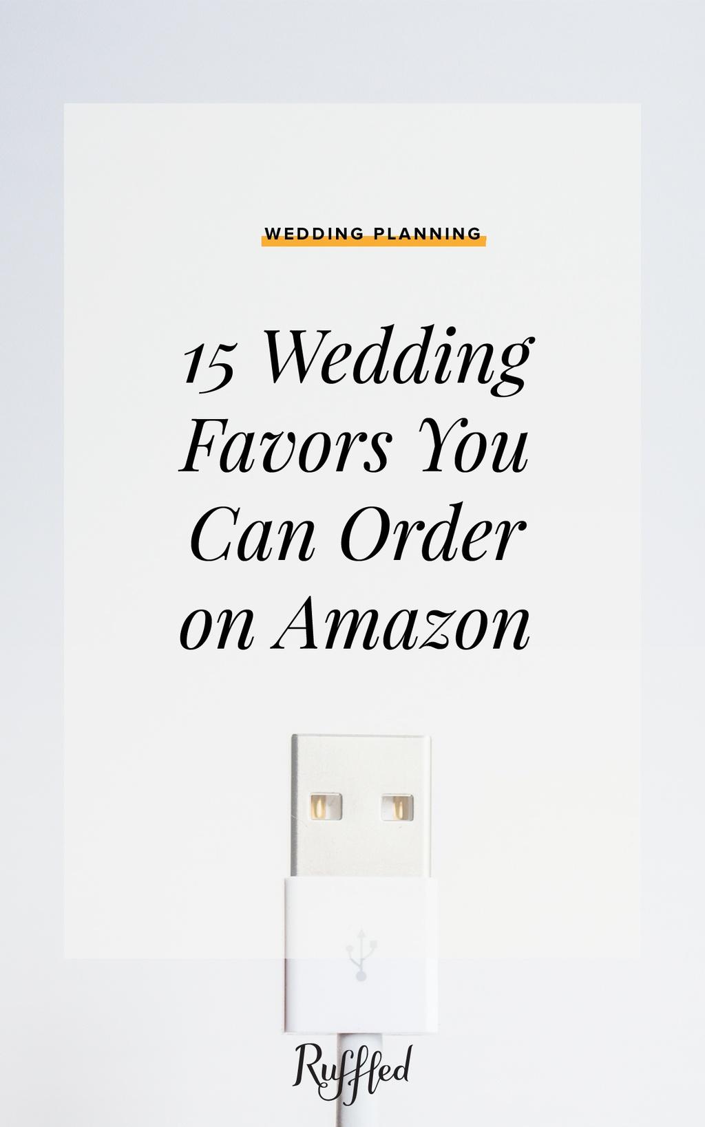 Amazon Wedding favors