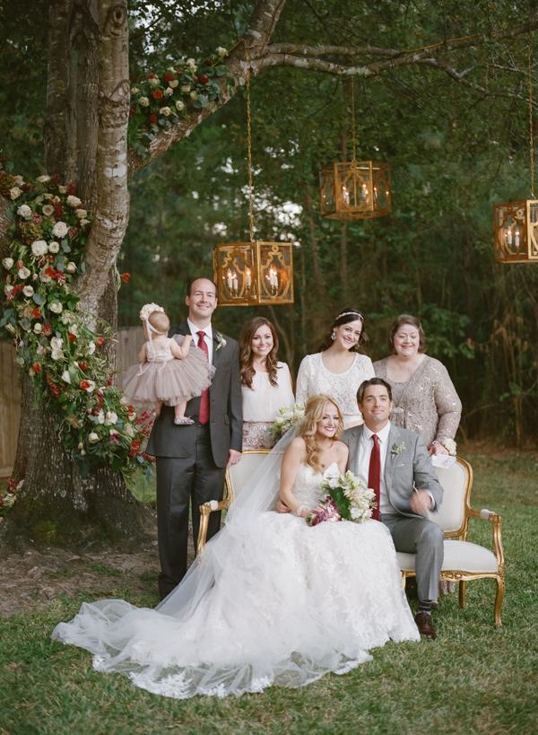 Backyard Chic Wedding In Texas