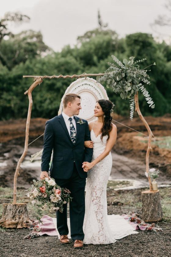 Au Naturale Farm and Vineyard Wedding with Handmade Details