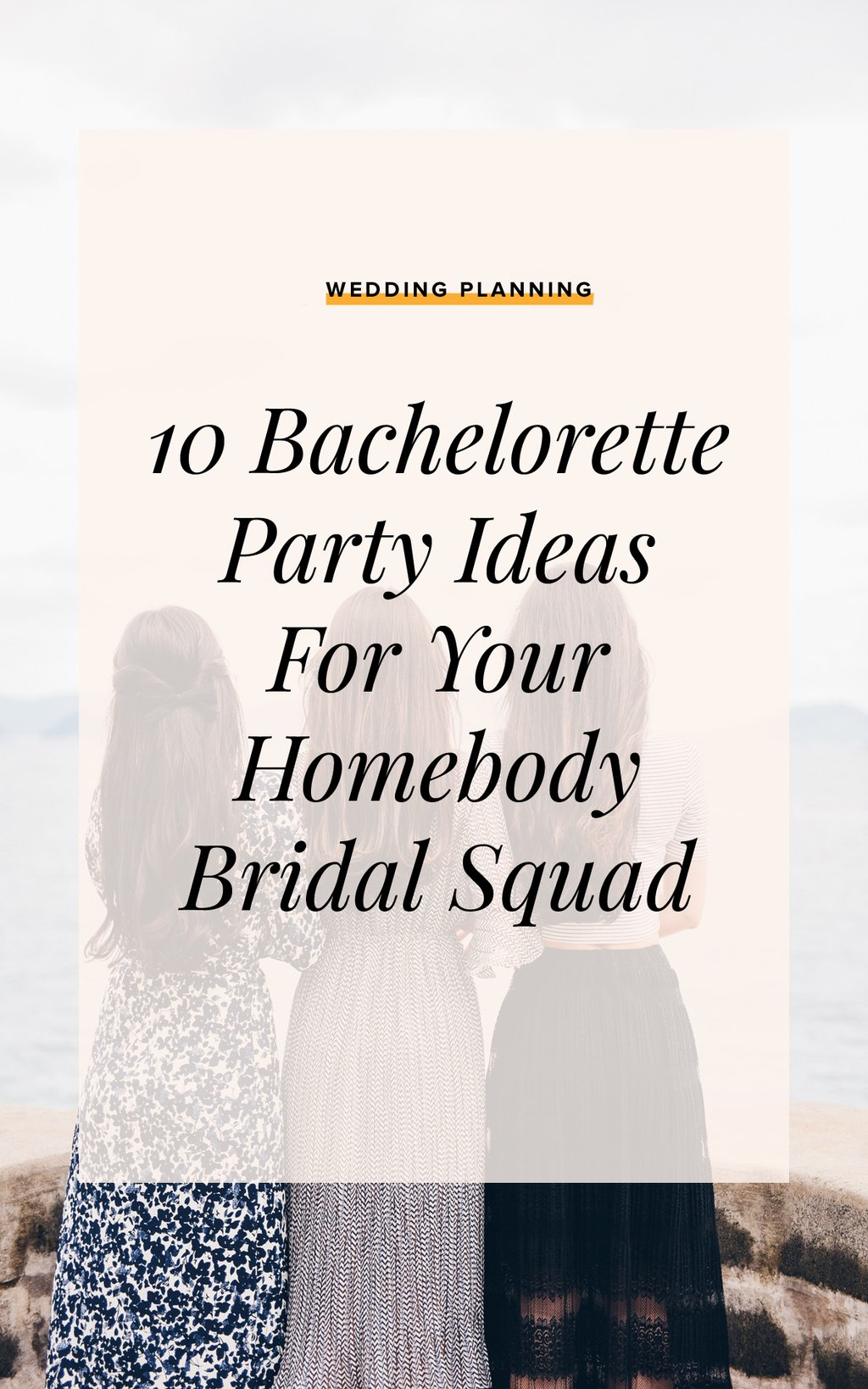 Bachelloretteparty Homebody