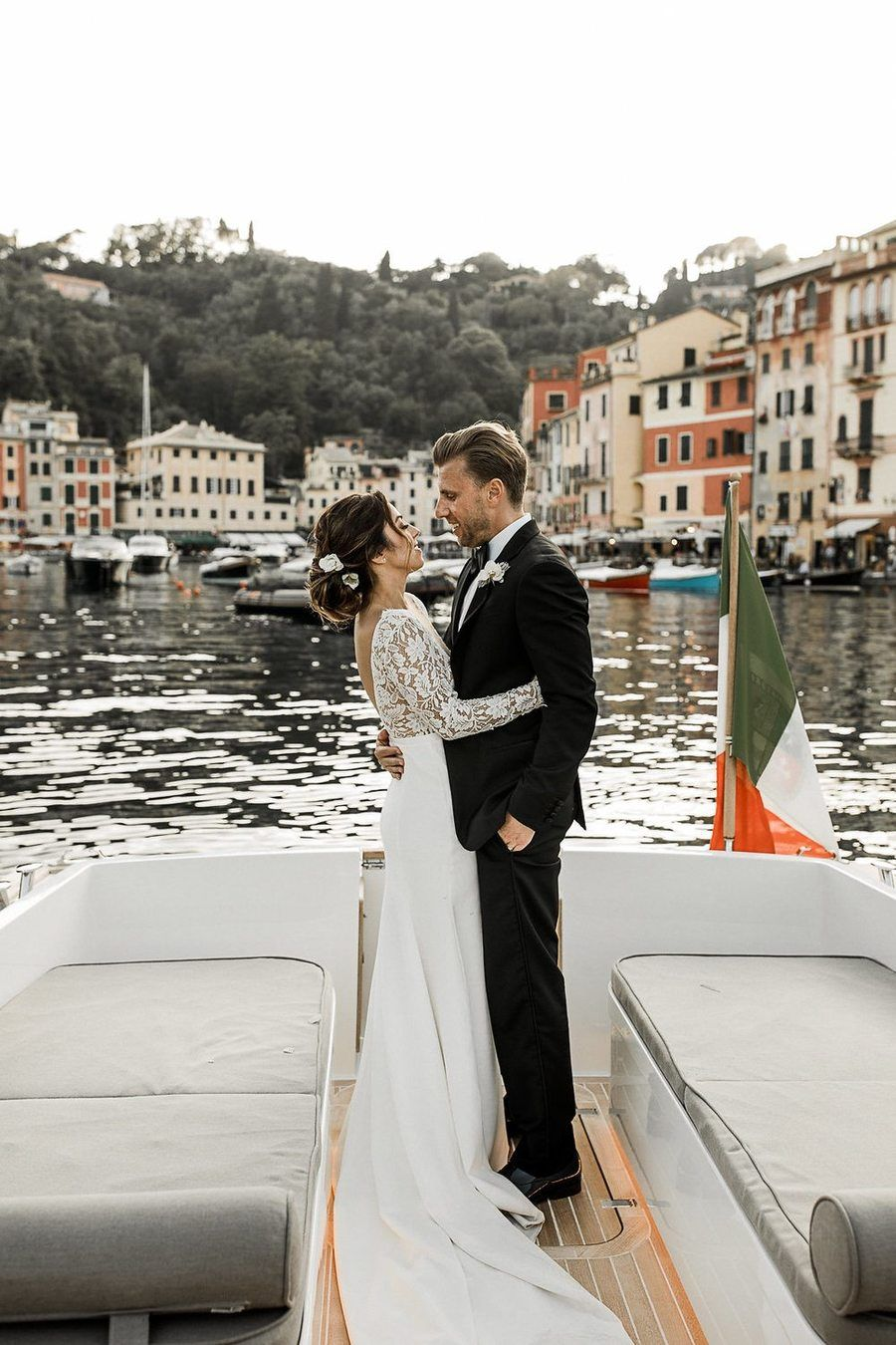Barefoot Beautiful Portofino Wedding 01