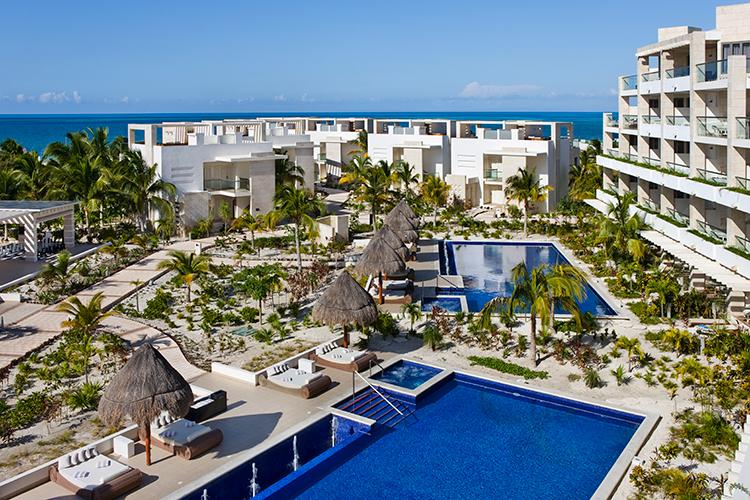 Beloved Playa Mujeres - http://ruffledblog.com/destination-weddings-honeymoons-with-beloved-playa-mujeres