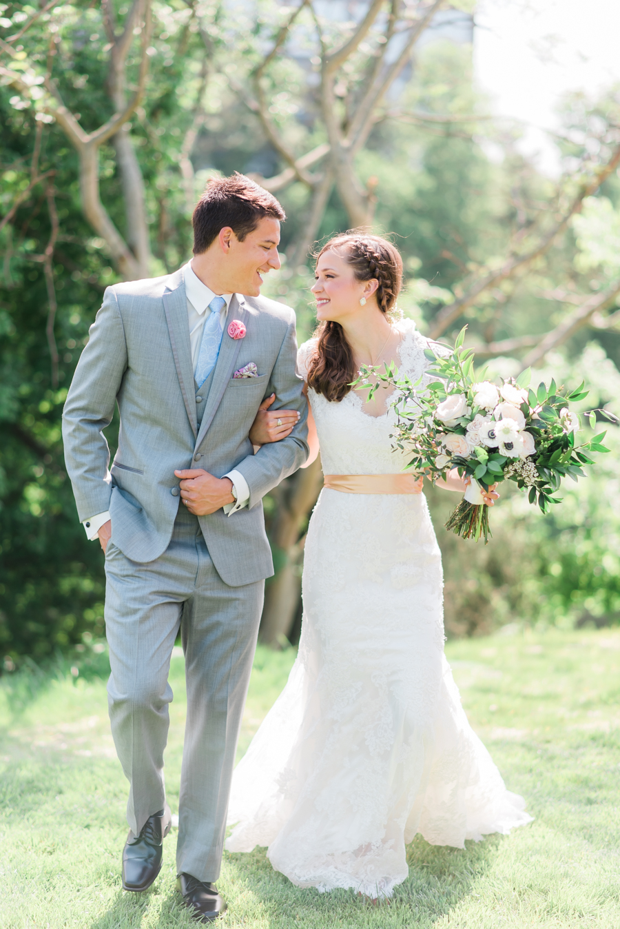 Romantic Southern Wedding Inspiration in Charlotte - photo by Maggie Mills Photography http://ruffledblog.com/romantic-southern-wedding-inspiration-in-charlotte