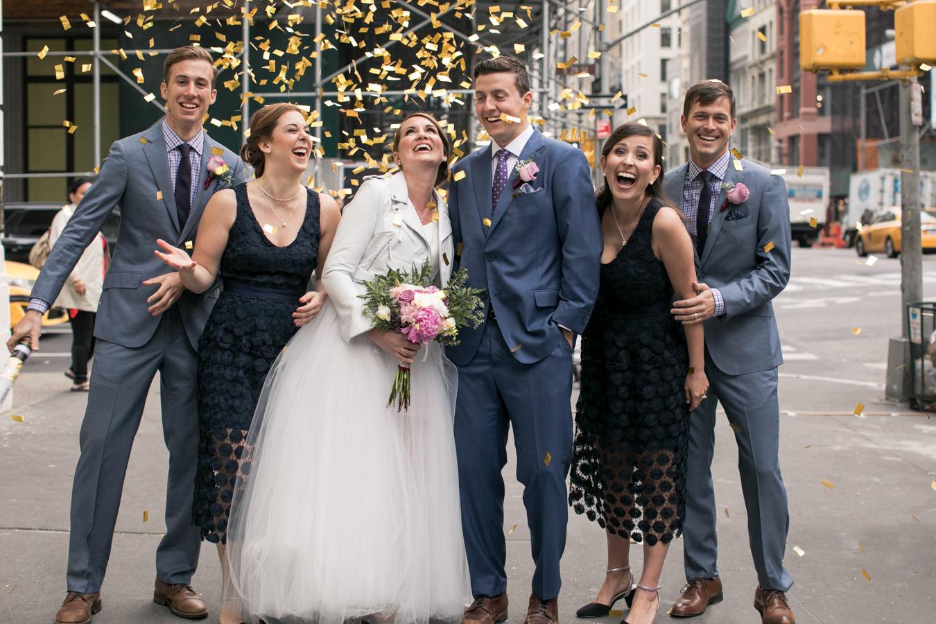 Modern + Urban NYC Wedding Inspiration - photo by Gina Esposito Photography http://ruffledblog.com/modern-urban-nyc-wedding-inspiration
