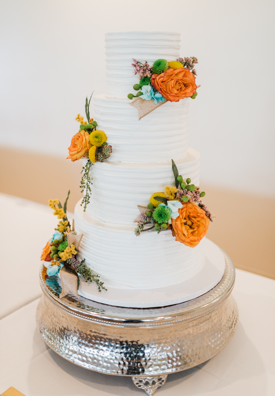 Fun and Colorful Wedding Inspiration with Paper Flowers - photo by Laraina Hase Photography https://ruffledblog.com/fun-and-colorful-wedding-inspiration-with-paper-flowers