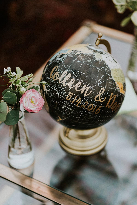 wedding ideas - photo by M2 Photography http://ruffledblog.com/black-tie-philadelphia-wedding-with-a-boho-twist