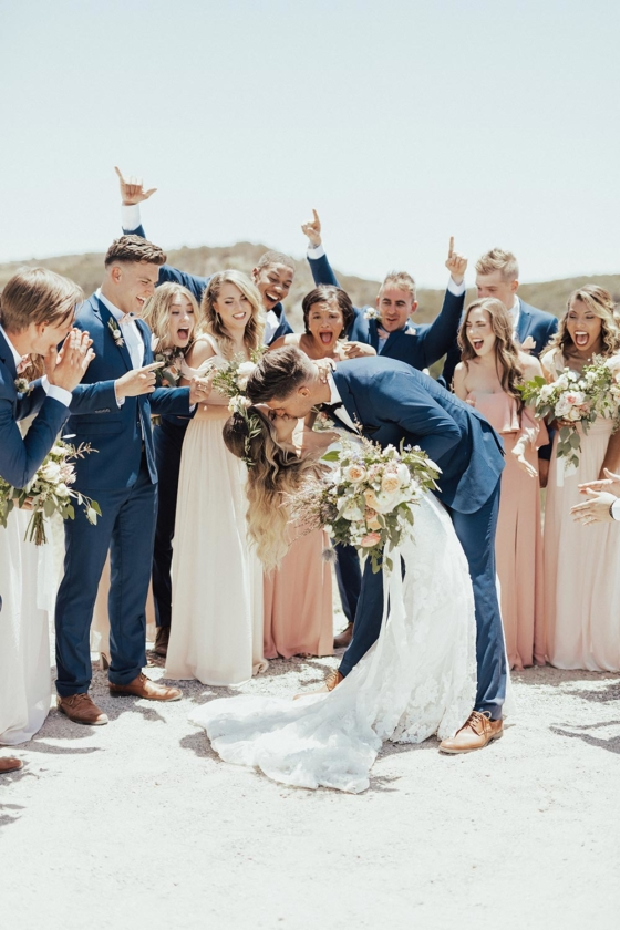 Chic Malibu Wedding For These Long Distance Lovebirds