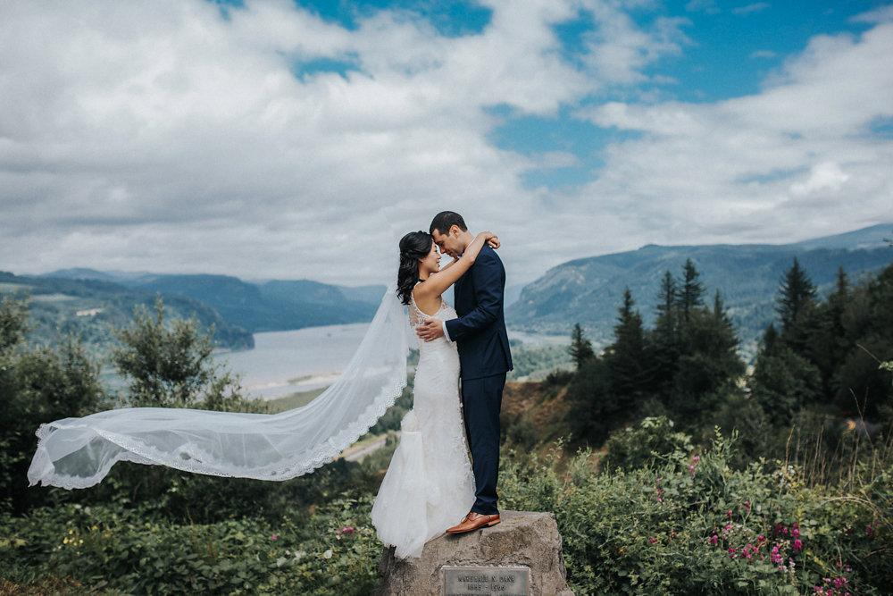 Bohemian Portland Forest Wedding