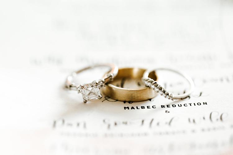 engagement ring photos - photo by Jenna Bechtholt Photography https://ruffledblog.com/boho-pacific-northwest-forest-wedding-with-king-protea