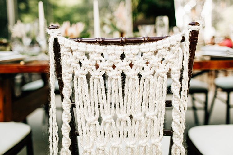 bohemian wedding ideas - photo by Jenna Bechtholt Photography http://ruffledblog.com/boho-pacific-northwest-forest-wedding-with-king-protea