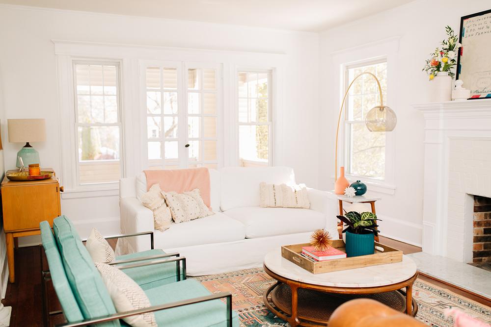 Our living room redo reveal ruffled for The living room 002