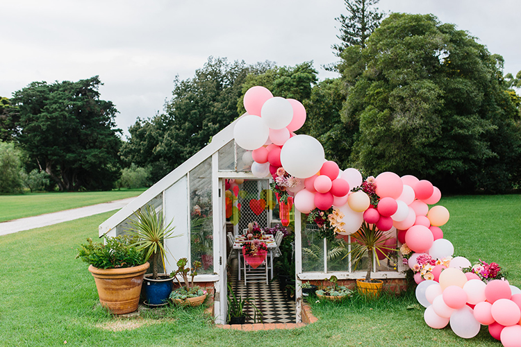 Bold Bohemian Wedding Inspiration with a Balloon Display - photo by Kas Richards http://ruffledblog.com/bold-bohemian-wedding-inspiration-with-a-balloon-display