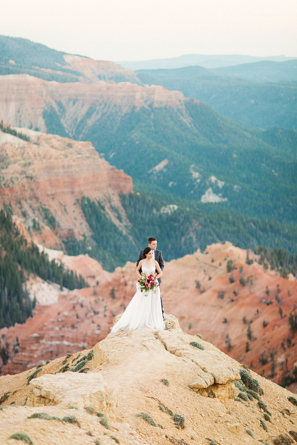 Botanical Wedding Ideas in the Mountains of Southern Utah - photo by Gideon Photography https://ruffledblog.com/botanical-wedding-ideas-in-the-mountains-of-southern-utah
