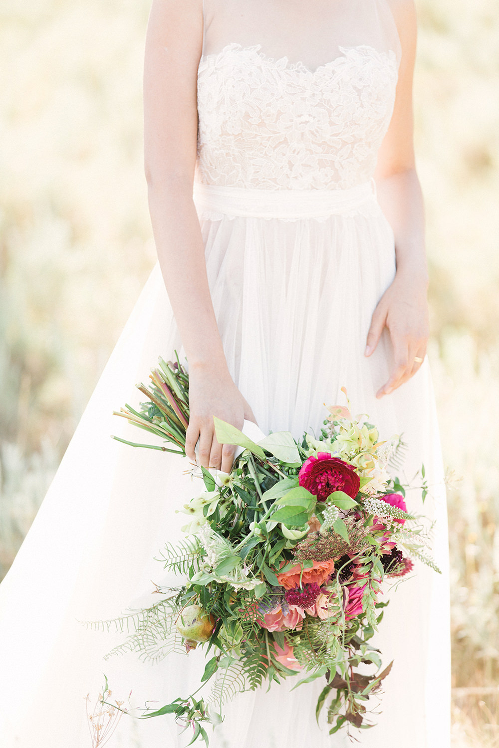 romantic wedding bouquets - photo by Gideon Photography http://ruffledblog.com/botanical-wedding-ideas-in-the-mountains-of-southern-utah
