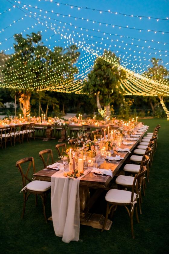 Cabo San Lucas Destination Wedding Beneath Twinkle Lights