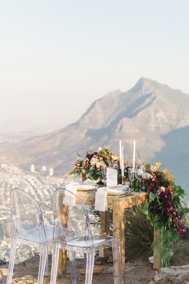 Cape Town Inspired Mountaintop Wedding Ideas Photo By Dehan Engelbrecht Https Ruffledblog