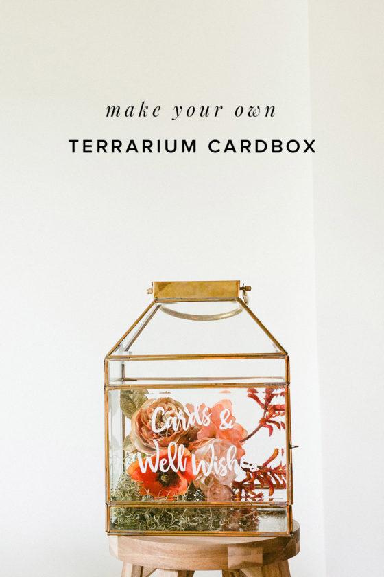Make a Conversation Piece with This Modern Terrarium Card Box